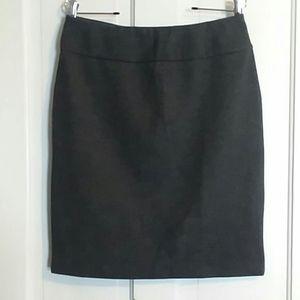 NY&Co. Dark Gray Stretch Skirt Sz MED ☄EUC☄